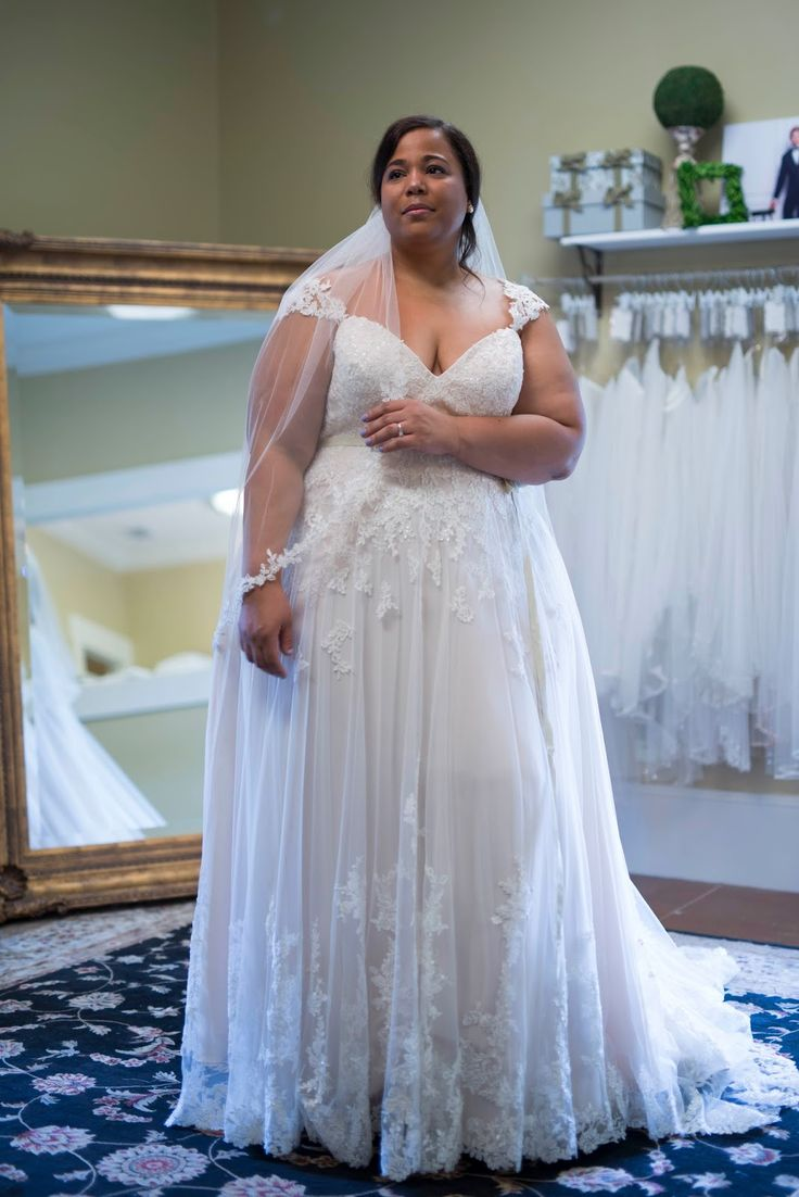 The @essenseofaustralia Everybody/EveryBride selection of has an amazing range of plus size wedding gowns in 18 and up sample sizes.  #ad