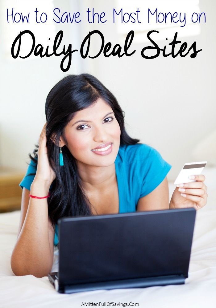 Do you use Daily Deal Sites?   They are a great way to help you save some extra money on products you plan to buy! here's a few tips to help you get the most out of your favorite daily deal sites- How to Save The Most Money with Daily Deal Sites