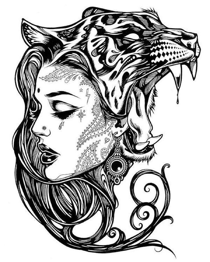 Best 25+ Tiger Tattoo Ideas On Pinterest