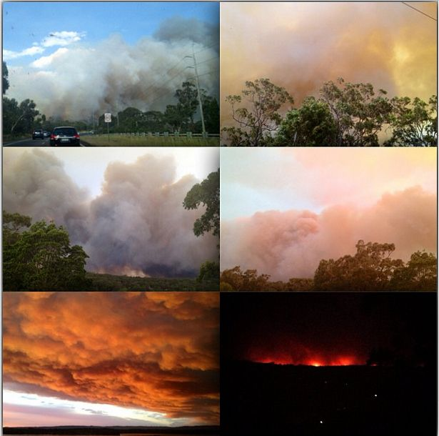 NSW's worst bushfires in a decade have destroyed hundreds of homes across the state. October 2013. Basically, the whole of coastal NSW was affected. More on site.