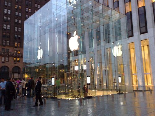 Apple 5th Avenue New York