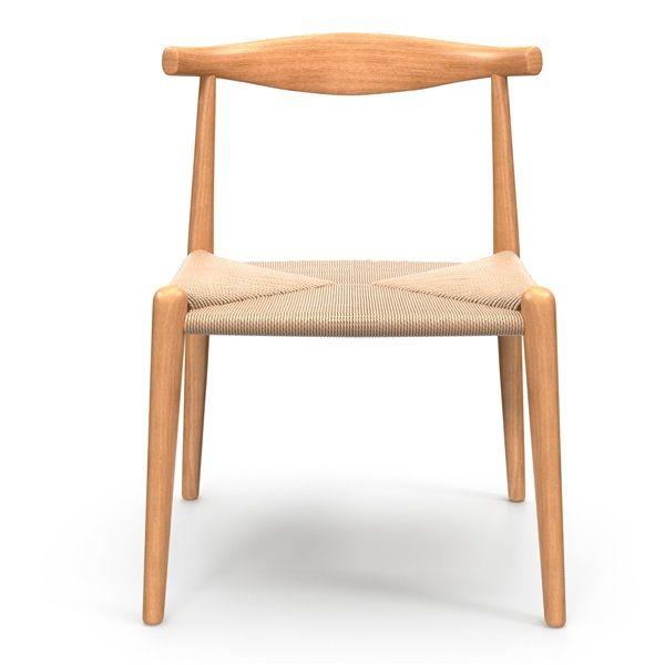Hans Wegner Elbow Chair | Wegner, Hans wegner dining, Chair