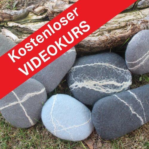 Online-Videokurs Filzkurs, Filzanleitung, Filzen lernen, Filzworkshop für Erwachsene
