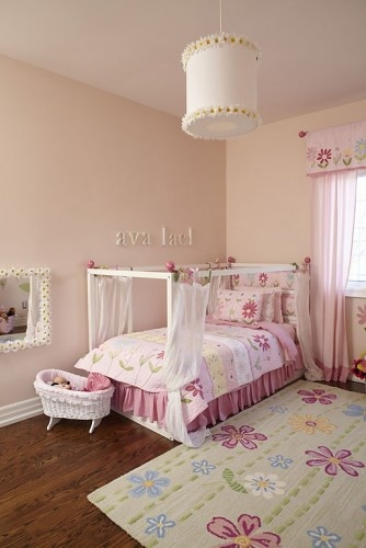 what a cute little princessy room
