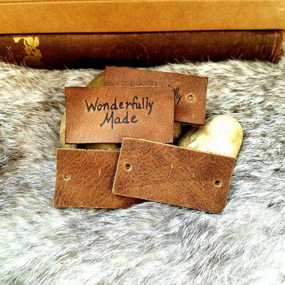 Etiquetas de cuero de encargo fino Flexible por TradingPost814