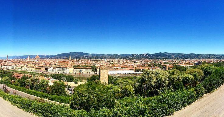 Панорама города Флоренция   #этожизнь #лето #путешествие #август #2016 #summer #travel #traveling #reisen #followme #photoart #italia #florence #флоренция  #италия #firenze