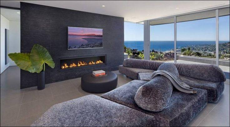 18 современных гостиных с прекрасным видом из окна