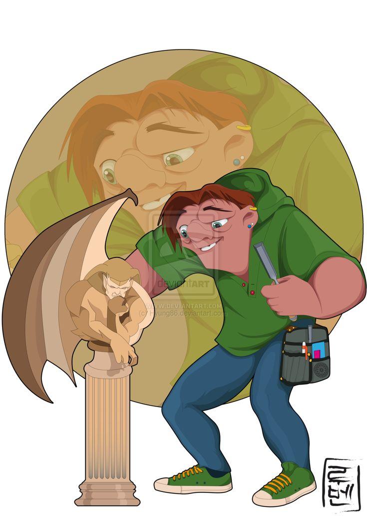 Disney University - Quasimodo by Hyung86.deviantart.com on @deviantART