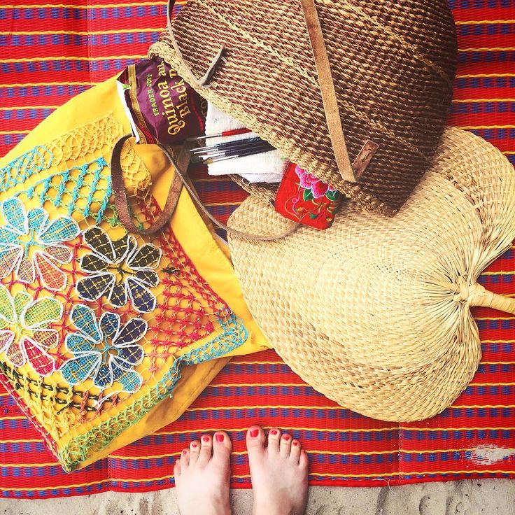 Beach essentials!