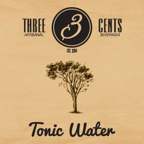Tonic water  - three cents