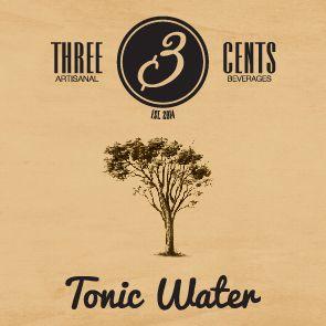 Tonic water  - three cents