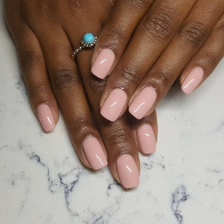 Bio Seaweed Gel in Peaches by @brendas.nails