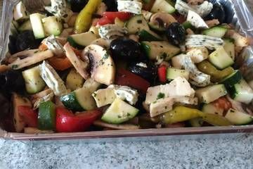 Gemüsepäckchen für den Grill