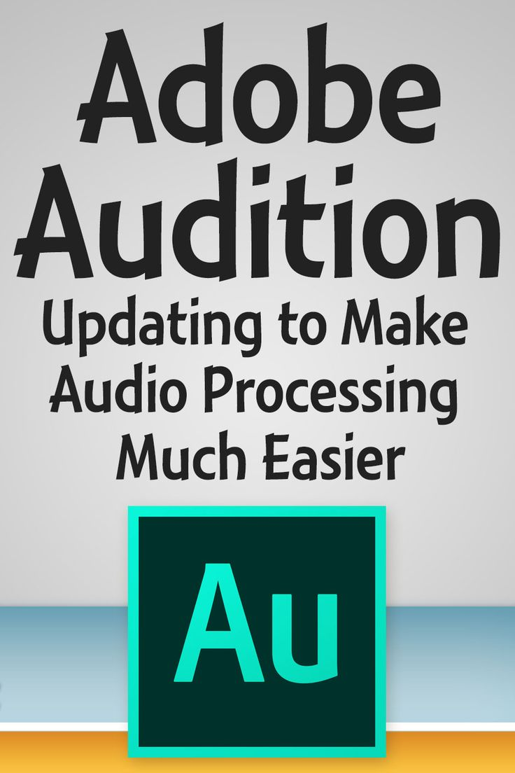 "Adobe Audition is my choice for editing podcasts and other audio. At NAB Show 2016, Adobe demonstrated the new ""Essential Sound"" panel."