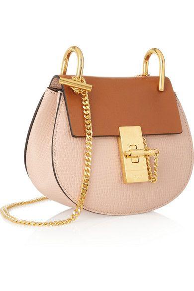 chloe marcie knockoff - Chlo�� | Drew nano textured-leather shoulder bag | NET-A-PORTER.COM ...