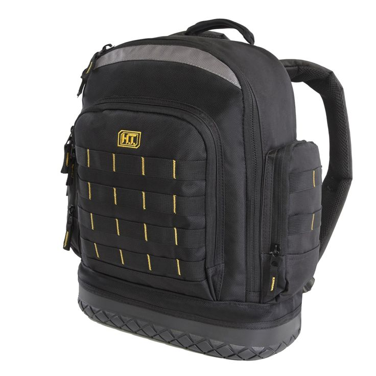 Highland Tactical Task Hard Bottom Tool Backpack with Molle Webbing