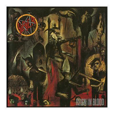 """L'album degli #Slayer intitolato """"Reign in blood""""."""