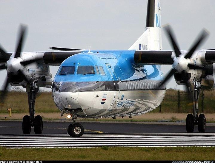 KLM Fokker 50, Made in the Netherlands