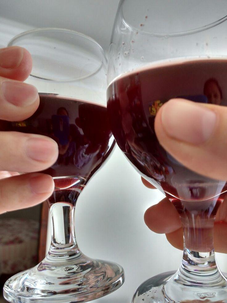 Frizzante - suco de uva integral + kefir de água