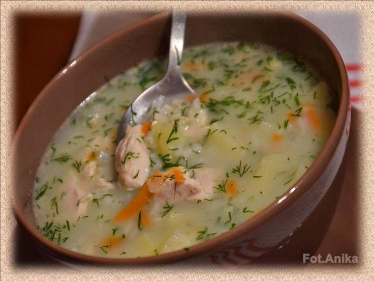 Domowa kuchnia Aniki: Pożywna zupa koperkowa