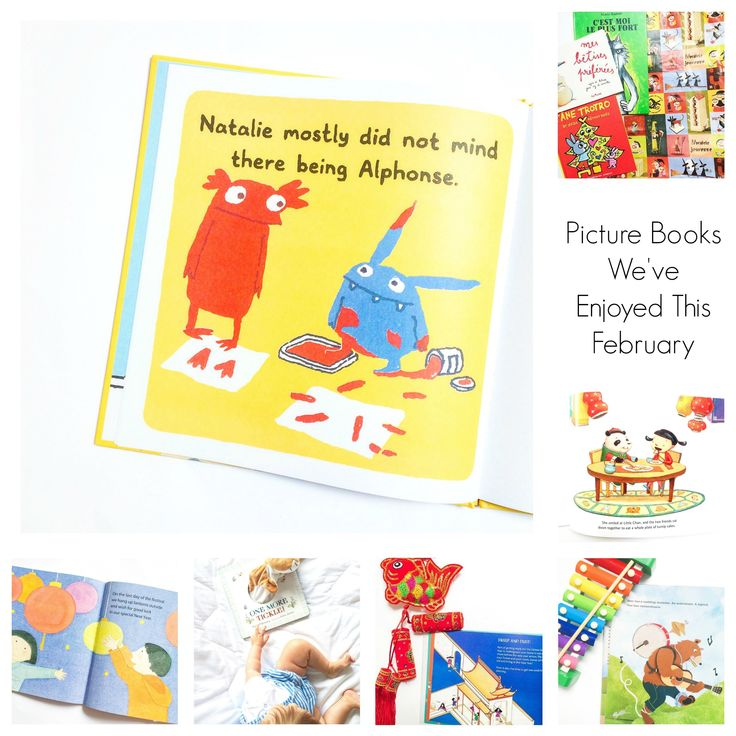 Picture Books We've Enjoyed This Month: February