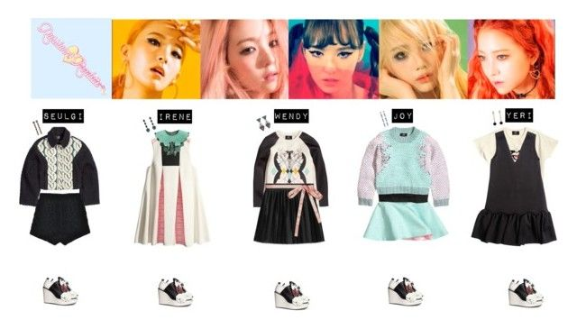 RED VELVET - RUSSIAN ROULETTE♡ by vvvan99 on Polyvore featuring polyvore fashion style Gucci Stolen Girlfriends Club Anton Heunis Marni H&M clothing