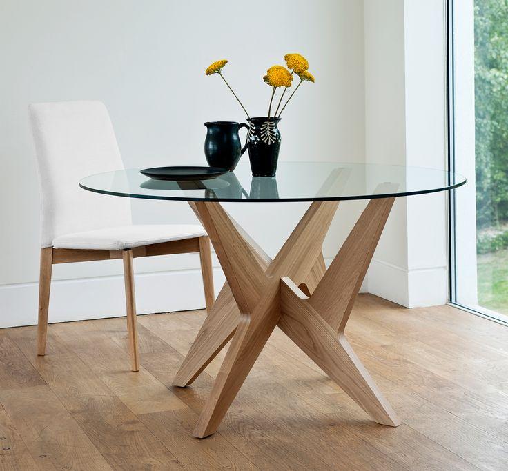 Cross Pedestal Table by Matthew Hilton | Case Furniture