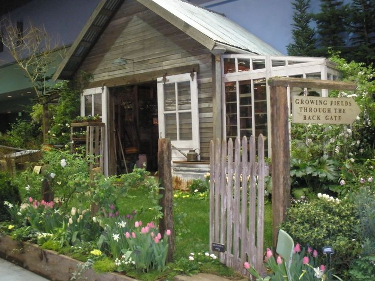 Image Detail For Rustic Garden Shed Garden Ideas