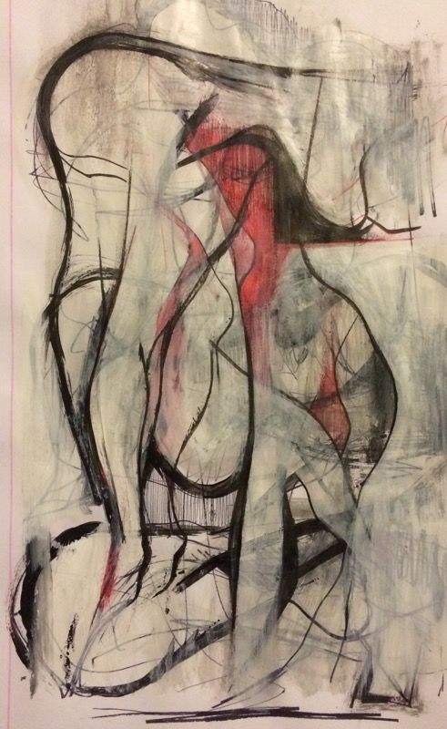 Study... 2017 #brunovaratojo #art #artcore #contemporaryart #modernart #artwork #fineart #artcall #painting #study #paintingstudy #drawing #saatchiart