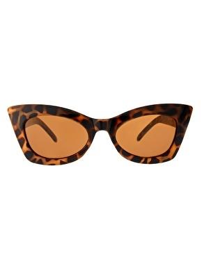 Enlarge ASOS Tort Cat Eye Sunglasses