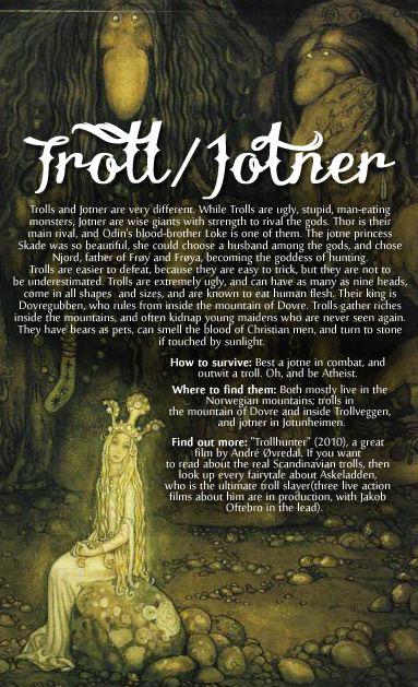 "wintherharlekin: "" Scandinavian folklore (special focus on ..."