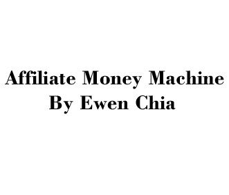 Affiliate Money Machine SFW...By Ewen Chia......Exclusive PDF Report With MRR.