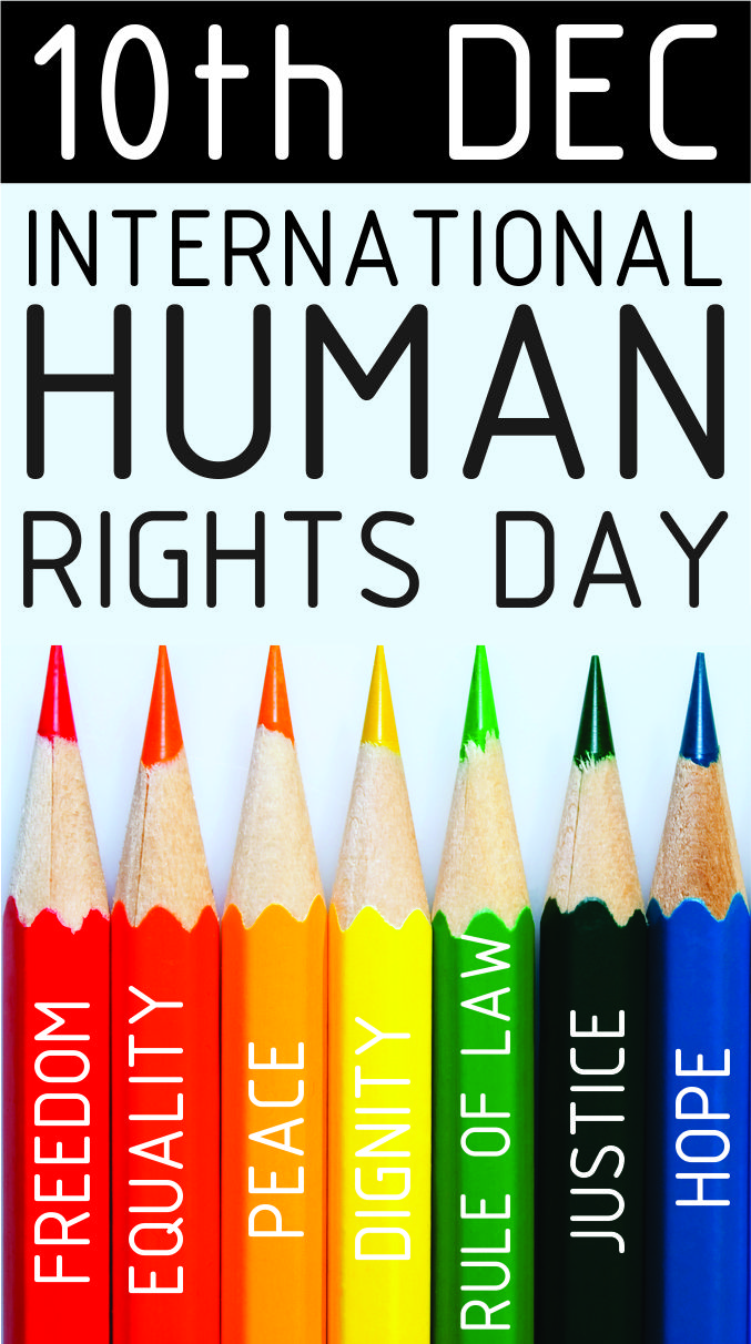 Human Rights Day is celebrated annually across the world on 10 December. The date was