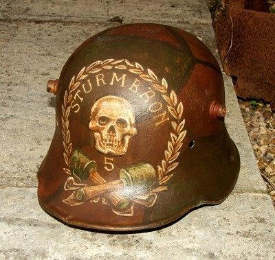 World War 1 Helmet Markings