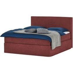 Boxspringbett Boxi ¦ rot ¦ Maße (cm) B 180 H 125 Betten