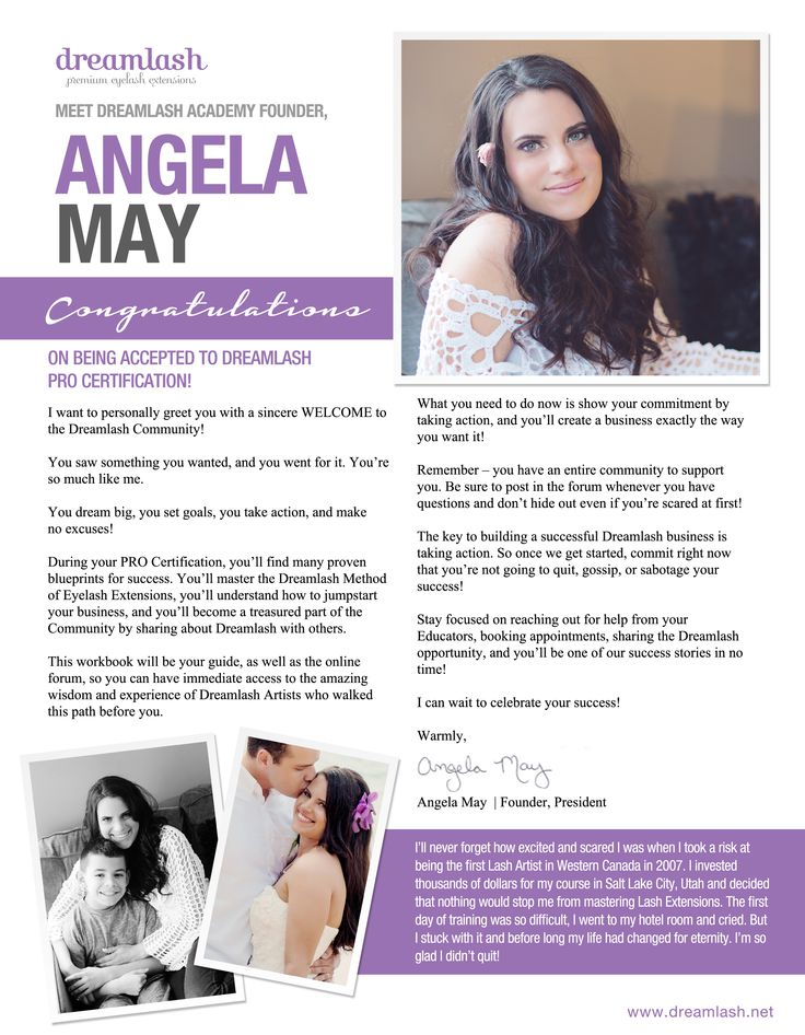 Meet Dreamlash Founder, Angela May! Angela's story begins as a young single mom and Starbucks Barista struggling to make ends meet. When she didn't receive the promotion she was promised she left her job dedicated to finding the secret formula for entrepreneurship.