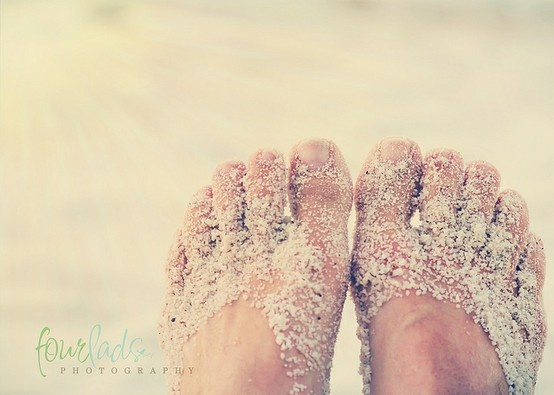 Toes in the sand <3 #AustraliaDayOnboard
