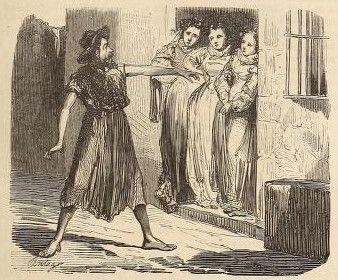 Miguel de Cervantes – El Licenciado Vidriera (1866)