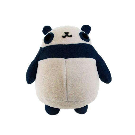 Plush Panda Pattern - PDF Sewing Stuffed Toy Animal