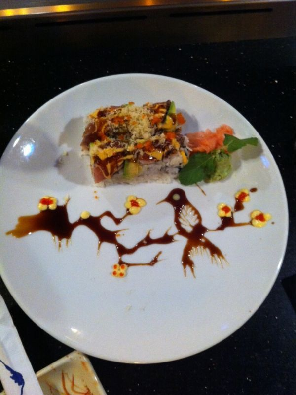 Amazing sushi art, wish I could do this!