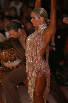 what a beautiful latin dance dress