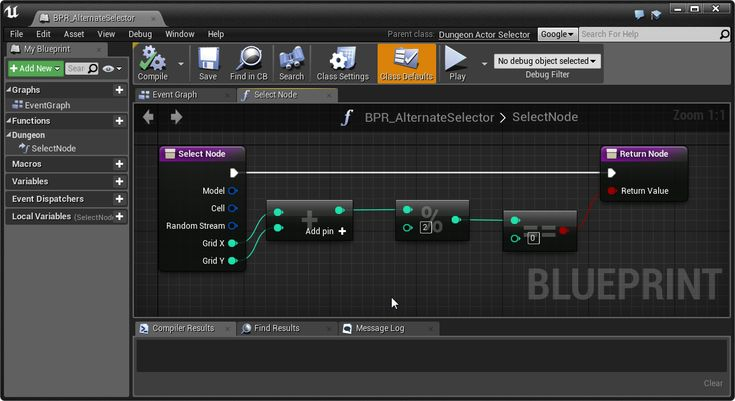 9 best ue4 dungeon architect markers and rules images on pinterest rule here is an example of a selection logic that selects a node only if malvernweather Image collections