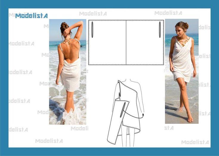 vestido transpassado. Fonte: https://www.facebook.com/photo.php?fbid=548374081865168=a.426468314055746.87238.422942631074981=1