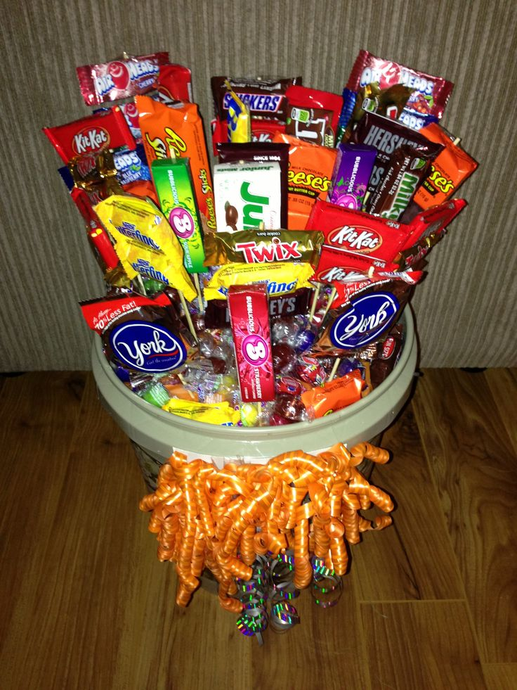 I Made This Candy Bouquet For My Son His 16th Birthday