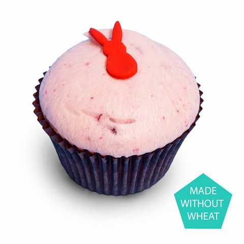 Deluxe Cherry Bakewell Cupcake (Wheat Free) @ Sweet Couture, London