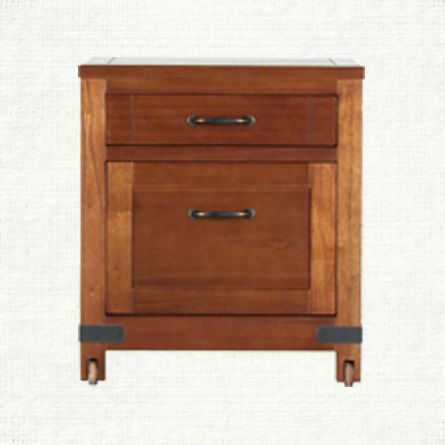 View The Bentley Brown 2 Drawer File On Castors From Arhaus. The Bentley  Collection Is