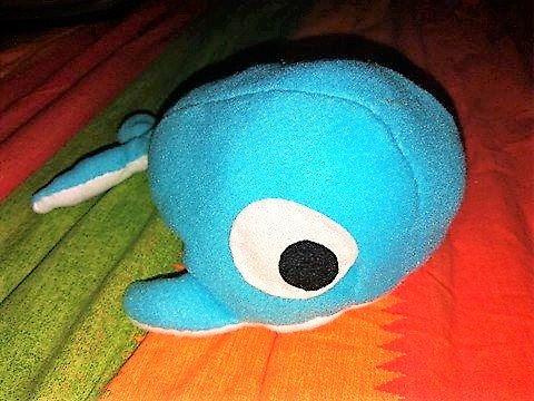 whale plush toy children sea marine creature, cute kawaii azure blue di BazarDiSottomondo su Etsy