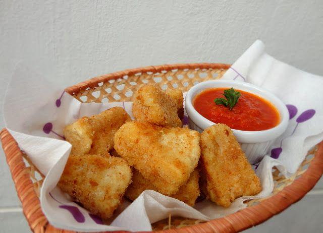 cocinaros: Cómo Hacer Queso Frito (Camembert Frito). II Ciclo Recetas Aprovechamiento.