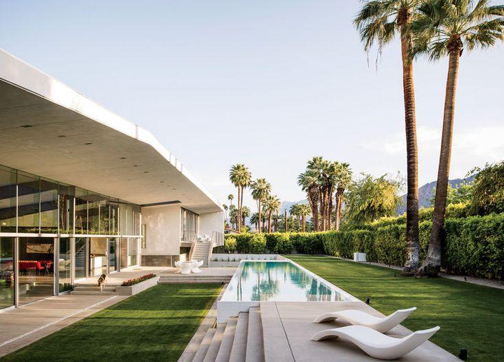 Desert Canopy House Lap Pool Part 54