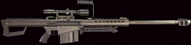 Barrett M82 M82A1 XM107